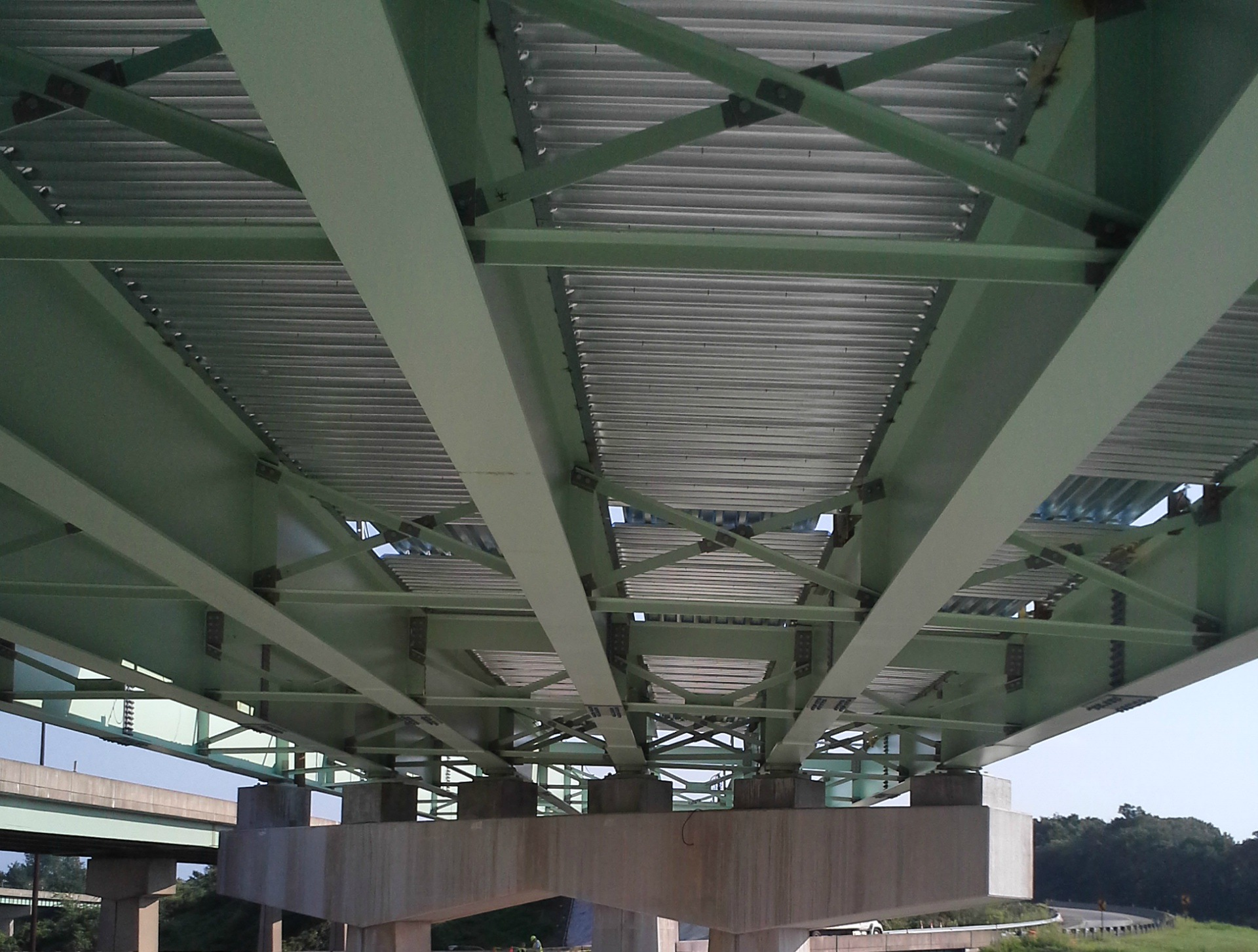 Steel Bridge Deck Forms